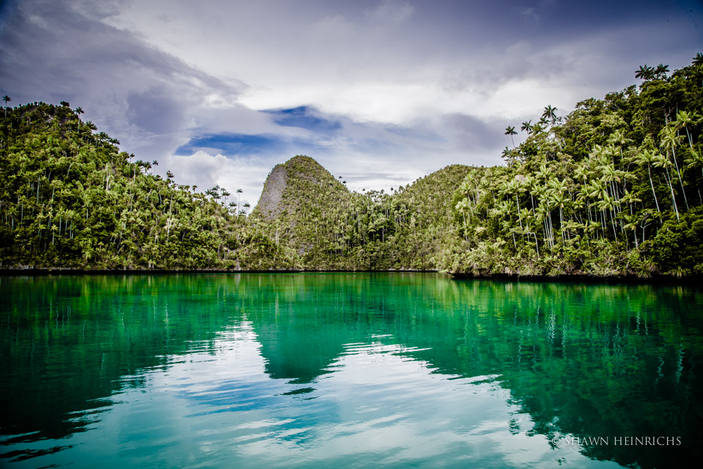 Wayag Bay in Raja Ampat